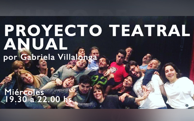 PROYECTO TEATRAL ANUAL